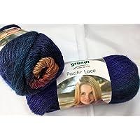 Hobillo Pacific Lace de hilo fino Gründl con lana de alpaca (100 g),