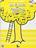 Ma 4ème année de formation musicale...