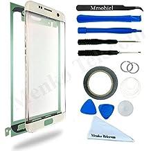 Kit de remplacement d'écran tactile pour Samsung Galaxy S7 EDGE G935 OR inclus: Vitre de rechange / Pincette / Ruban adhésif 2mm / Chiffon microfibre / Kit d'outillage spécifique / fil métallique MMOBIEL