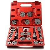 ECD Germany Set Reposicionador de pistones de frenos con husillos incluídos 22 piezas
