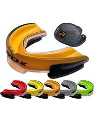 RDX–Protector bucal, todo el año, unisex, color naranja, tamaño talla única