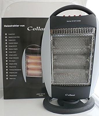 Halogenstrahler 1200W 230V 50Hz Heizung mobiler Heizkörper von Collani - Heizstrahler Onlineshop