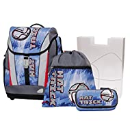 Schneiders Set de sacs scolaires, bleu (Bleu) - 10110303
