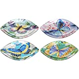 Sigris - Plato x4 Colores Cristal 22 cm
