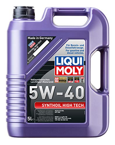 LIQUI MOLY 1307 Synthöl High Tech Motoröl 5 W-40 5 L