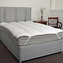 Magnético Natural Alivio Del Dolor colchón Alivia Dolores durante el sueño., Matrimonio Reino Unido (150 x 200 cm)
