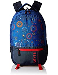 Lavie Blue Laptop Backpack (BHEI552070B3)