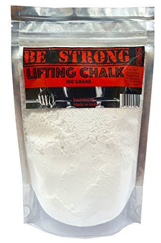 Be Strong Lifting Chalk(100 Grams) For Powerlifting,Weightlifting,Rock Climbing And Other Sports