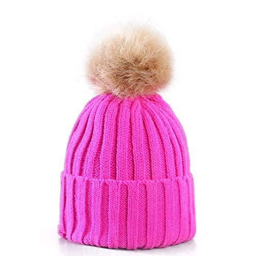 LIVERPOOL ENTERPRISES LTD - Gorro de Invierno para Mujer Rosa Hot Pink