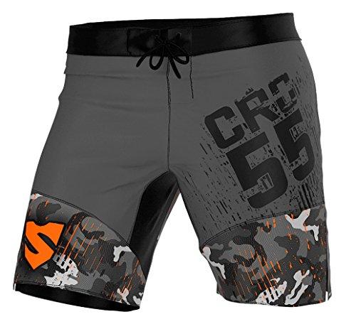 Smmash Herren Compression CrossFit Shorts MORO - Größe S M L XL XXL (XL)