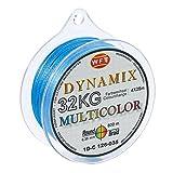 WFT Round Dynamix KG Multicolor 600m geflochtene Schnur, Durchmesser:0.25mm
