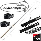DAM Spezi Stick Angelrute alle Modelle mit Angel Berger Rutenband (Zander / 2,70m / 20-40g)