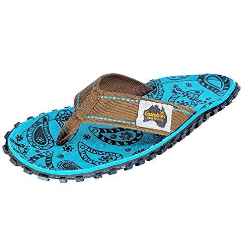 Gumbies, Islander Zehentrenner Unisex, Farbe: Paisley, Größe: 40
