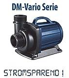 AquaForte Filter-/Teichpumpe DM-20000 Vario zwischen 34 und 187W stufenlos regelbar!, 9-20m/h, Förderhöhe 7m