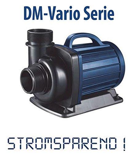 AquaForte Filter-/Teichpumpe DM-30000 Vario zwischen 52 und 385W stufenlos regelbar!, 12-29m³/h, Förderhöhe 8m