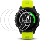 Display Schutz für Garmin Forerunner 935, AFUNTA 3 Pack gehärtetes Glas Film Anti-Scratch High Definition Full Coverage Cover für Smartwatch