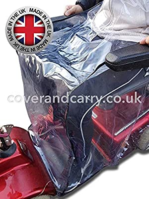Waterproof Mobility Scooter Cover for Your Legs, Stop Getting Soaked When You are Out and About,its so Simple but so Effective. Made in The UK