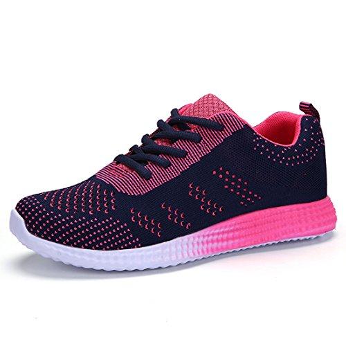 Frauen Schnell Trocknende Mesh Wasser Aqua Schuhe Breathable Wandern Laufschuhe Blau 225MM:6 B(M) US/EU 36/UK 4 (Tennis Classic Mesh Nike)