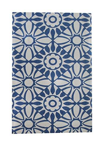 Signes Grimalt 124864 - Alfombra impresa, 55 x 85 cm, color azul