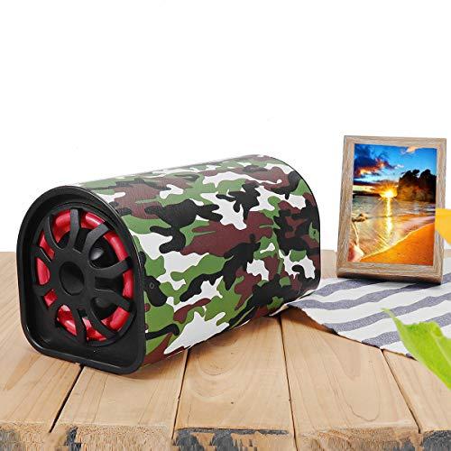 Forspero 12V/24V 220V Car Bluetooth Remote Control Subwoofer Hifi Bass Power Amplifier Speaker