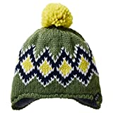 Jack Wolfskin Diamond Knit Cap Kids, Unisex, Grün - Deep Forest