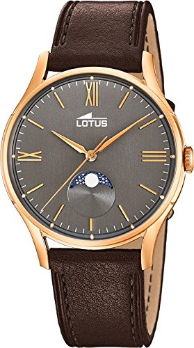 Lotus Multifunktion 18428/3 Mens Wristwatch Lunar Phase Indicator