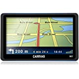 CARRVAS 7-Inch LCD Touch Screen Truck and Car GPS Navigation System