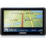 CARRVAS GPS Navigatore per Auto EU Mappa 8GB 480*800