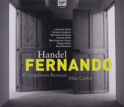 HANDEL: Fernando Re Di Castiglia / Curtis, Zazzo, Cangemi, Adami, Abete, Pizzolato, Il Complesso Barocco Veronica Music Box