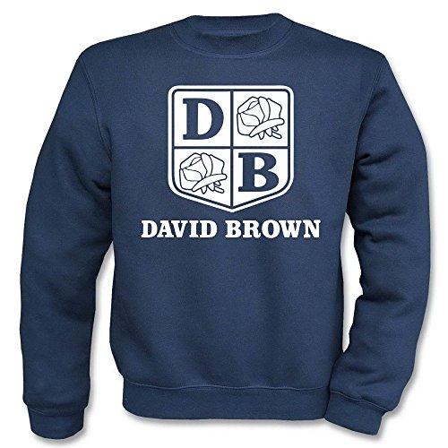 Pullover - David Brown Navy