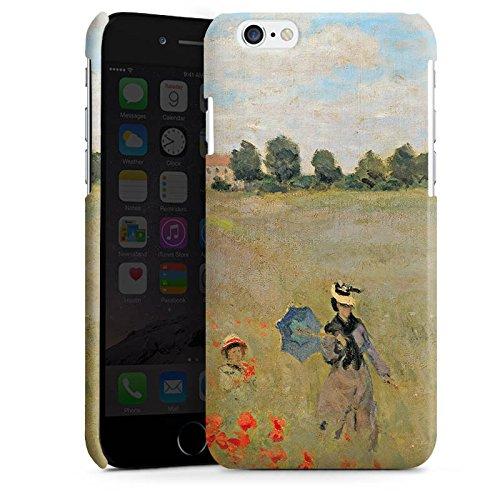 Apple iPhone 5 Housse Étui Silicone Coque Protection Claude Monet Tableau Art Cas Premium brillant
