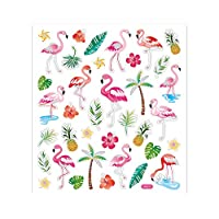 Foiled Flamingo Sticker Sheet for Kids Crafts | Childrens Craft Stickers