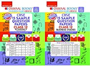 Oswaal CBSE Sample Question Paper Class 12 Economics + Business Studies Book (Reduced Syllabus for 2021 Exam)