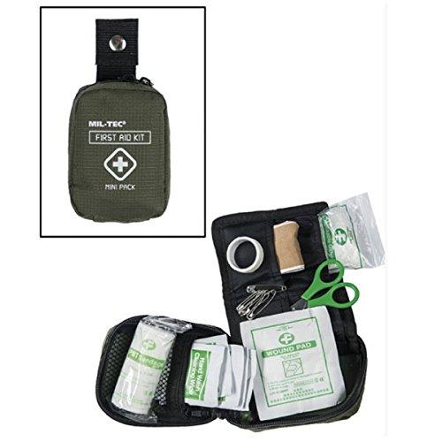 Tactical First Aid Pack Erste Hilfe Survival Sanitäter Medic Pflaster Verband Verbandstasche Verbandskasten Army Bw oliv #16355