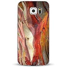 Funda Galaxy S6/S6 Edge/S6 Edge Plus/S7/S7 Edge Jeper® Carcasa Silicona Transparent Protector TPU Ultra-delgado Anti-Arañazos Mármol Case Teléfono Galaxy Funda