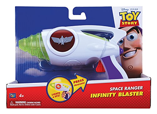 MTW Toys 64152 - Disney Pixar Toy Story - Buzz Infinity Blaster (Toy Story Kostüme Für Kinder)