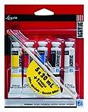 Lefranc Bourgeois Louvre Pack de 5 Tubes de Peintures acryliques 20 ml