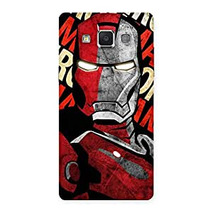 Impressive Introduction Man Back Case Cover for Samsung Galaxy A5