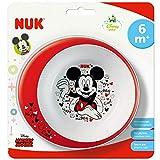 Nuk Disney Mickey - Piatto Fondo Antiscivolo, dai 6 Mesi - 100 g