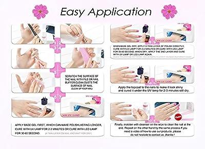 Gellen Brand Gel Nail Polish Choose Any 6colors Nail Art Kits Varnish Manicure Nail Salon Set 10ml