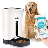 FeiNianJSh 4.3l capacità Cibo Ciotola Automatico Pet Feeder, Tempo e razionale Smart Alimentazione Alimentazione Macchina con Telecomando Fotocamera Lusso Tipo