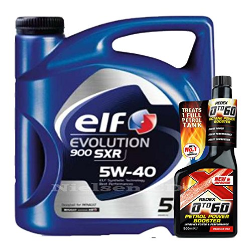 elf-evolution-sxr-5w40-oil-5l-redex-petrol-0-to-60-octane-booster-500ml