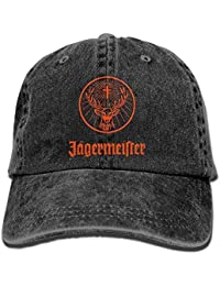 Mabaeson Evelyn C. Connor Jagermeister Unisex Plain Cool Adjustable Denim Baseball Cap