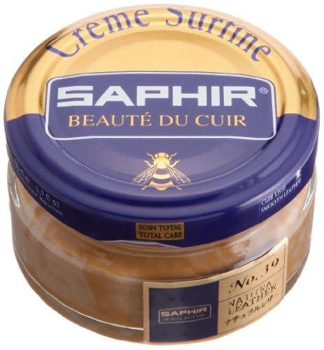 Cirage Saphir pommadier (Crème Surfine) cuir naturel