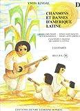 Chansons et Danses d'Amerique Latine Vol D (Guitar Duet)