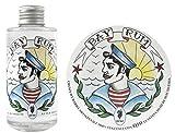 Extro Cosmesi Bay Rum Weich Rasierseife 150ml und Eau De Toilette Aftershave 125ml