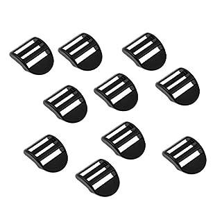 Baoblaze 10pcs Plastikschnalle für Gurtband/Rucksack Gurt