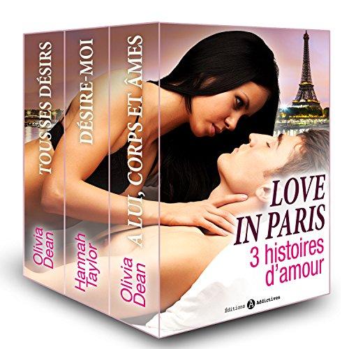 Couverture du livre Love in Paris, 3 histoires d'amour