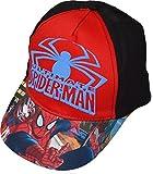 Marvel Spiderman Spider-man Cap Kappe Schirmmütze Baeball Cap Jungen - 52 CM
