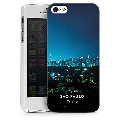 Apple iPhone X Silikon Hülle Case Schutzhülle Brasilien Techno House Hard Case weiß